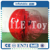 Wholesale fedex games for free for sale - Group buy Fedex m Outdoor Activity PVC Inflatable Bumper Bubble Soccer Zorb Ball For Adult Buffer Ball Running Family Game