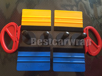 Wholesale car decoration 3m online - 4pcs Magnets M squeegee Vinyl cutter knife Vehicle Car Wrapping Tool Kit Vinyl Graphics Tools