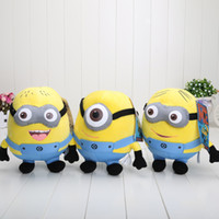 "Wholesale Despicable 13 Inch Toy - EMS 90pcs Despicable ME Movie Plush Toy 10 inch "" 25cm Minion Jorge Stewart Dave"