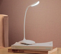 Wholesale NEW Adjustable USB Rechargeable LED Desk Table Lamp Reading Light Touch Switch L006