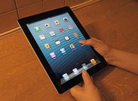 Recuperado iPad 4 Autêntico Apple iPad Grade A Tablets 16GB 32GB 64GB Wifi iPad4 Tablet PC 9.7