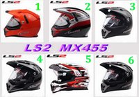 Wholesale Ls2 Mx455 - ECE authentication LS2 OFF Road Helmet motorcross helmet Motorcycle helmet Moto Racing helmet Ls2 MX455 Motorbike helmet made of ABS