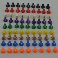 Wholesale Diy Amps - 9 davies 1510 style Colour knob DIY guitar amp effects pedal vintage stomp box