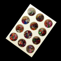 Wholesale Nail Art Supplies Free Shipping - 12 color Nail art supplies nail stickers decorations letters small multicolore sequins flash chip letter patch Decoration Free Shipping DHL