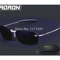 Wholesale Store Sunglasses - Wholesale-Polarized coating Sport sunglasses UV400 Male Driving shade glasses men Polar Alloy oculos de sol masculino wholesale store 3043