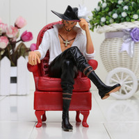 Wholesale One Piece Cool Action Figures - 16CM Anime One Piece Cool Dracule Mihawk Prize Creator x Creator Boxed PVC Action Figure Collectible Model Toy