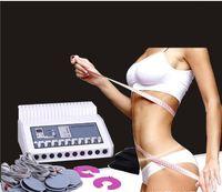 pads de stimulation musculaire achat en gros de-Nouveau venu 20 pièces gros tampons 2 pièces petit pad EMS électrique Muscle Stimulation Réduire la perte de poids minceur Machine pour la maison