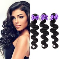 3 Pacotes Binhui Cheap Brazilian Body Wave Hair Virgin Hair Sale Natural # 1B 100g Unprocessed Remy Factory Atacado Tangle Shedding Free