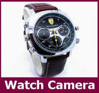 Wholesale Best Hd Spy Cameras - Newest fashion waterproof Spy Watch Hidden Pinhole Camera HD 720*480 16GB Wrist Watch DVR Sport Watch Camera for Man Best Gift