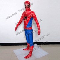 Wholesale Spider Man Mascots - Wholesale-Spider Man mascot costume advertising fancy dress party clothing spiderman