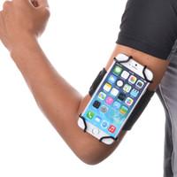 téléphone de contrôle d'accès achat en gros de-TFY face ouverte Sport + Armband Porte-clés pour plus de 5,5 pouces de téléphone portable - (Open-face Design - accès direct aux commandes de l'écran tactile)