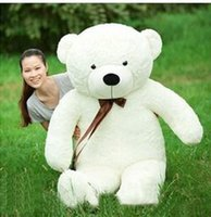 Wholesale life size toy christmas - 80cm giant teddy bear life size teddy bear christmas gift hot sale with high quality