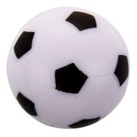 настольные пластиковые дети оптовых-Оптовая торговля-маленький футбол настольный футбол мяч пластиковый жесткий Homo logue Детская игра игрушка черный белый