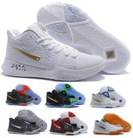 Wholesale Kyrie Irving Shoes - Cheap Kyrie 3 Basketball Shoes Men Cheap Orange Crossover Huarache Cavs Kyrie Irving 3s III Basketball Sports Shoes Replicas Sneakers Size 5