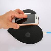 ladungspads für handys großhandel-Qi-drahtloses Aufladeeinheits-schnelles Aufladen für Rand-intelligenten Telefon-Handy Samsungs-Galaxie-S6 S6 Rand S7 S7 mit Mausunterlage