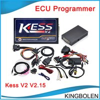 Wholesale Engine Ecu Tuning - 2016 Newest KESS V2 V2.23 OBD2 Manager Tuning Kit unlimited Token Kess V2 FW V4.036 Master version ECU chip tuning DHL free shipping