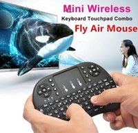 Rii Mini i8 + 2.4G Teclado sem fio Fly Air Mouse com Multi-Media Remote Control Touchpad Handheld para Google Android Smart TV Box colorido