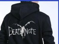 bleached sweater - Fall DEATH NOTE L LOG RYUK COSPLAY Hoodie SWEATER Bleach fairy Wings Punk JACKET