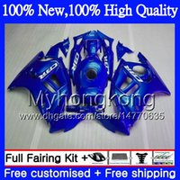 Wholesale Cbr F3 - Bodys Motorcycle For HONDA CBR600 F3 CBR600RR F3 CBR600FS 95 96 Gloss blue 47MY8 CBR 600F3 FS CBR600F3 CBR 600 F3 1995 1996 Hot Fairing kit