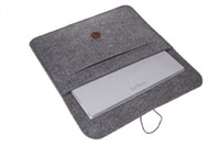 Wholesale Wool Pouches - Wool Felt Sleeve Carrying Case pouch bag for Microsoft Surface Pro 3  pro 4