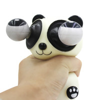 Wholesale Pop Eyes Animal Toy - Wholesale-Decompression Squeeze Toy Stress Panda Squeeze Toys Eyes Pop Out Halloween Gifts Animals Funny Decompression Squeeze Toy Stress