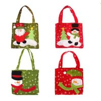 Wholesale gift bags dhl shipping online - Party Goody Bags Christmas Treat Holders Christmas Candy Bag Christmas Santa Pants Xmas Bag For Candy Gift DHL