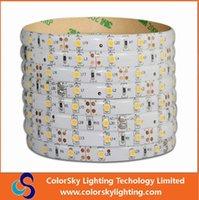 Wholesale 21 W Led - 12v LED Strip SMD3528 LED flexible light 60 led   M IP65 waterproof epistar chip high lumen CE&ROHS W WW R G B
