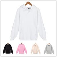 Wholesale Skate Mens - Mens Winter Hoodie Unisex Black Gray Pink Fashion Streetwear Skate Hoodie Sweatshirts Fire Hoodie