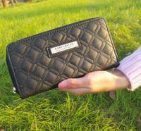 Wholesale Ladies Wallets Wholesale - new designer wallet famous brand women wallet and purse clutch leather carteiras kim kardashian wallet ladies Famous Brand purse