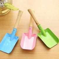 Wholesale Mini Gardening Shovel Colorful Metal Small Shovel Garden Spade Hardware Tools Digging Garden Tools Kids Spade Tool ZA5539