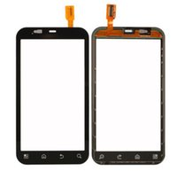 Wholesale Defy Screen - For Motorola MOTO Defy MB525 Touch screen digitizer with frame and tools front glass with flex black free shipping