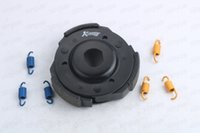 Wholesale Scooter Parts Clutch - Scooter Racing Clutch Shoes GY6 125cc 150cc 1000RPM 1500RPM 2000RPM Chinese Scooter Parts Racing Clutch 157QM 152QMI