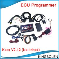 Wholesale Work Tunes - Newest V2.12 Kess V2 OBD2 Manager Tuning Kit without No token limited ECU reprogramming tool V2.12 Kess works wirth EDC17 ECU DHL free ship