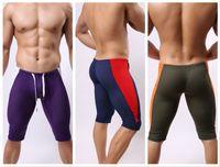 Wholesale Mesh Sport Short Pants - New Brand BRAVE PERSON Mens Sports Fitness Yoga Trousers mesh fifth pants