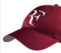 Wholesale new Limited edition newest men and women Roger Federer RF Hybrid Hat tennis racket hat cap tennis racquet