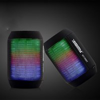 Wholesale Portable Outdoor Stage - Original AIBIMY MY500BT Bluetooth Speaker Wireless Portable Player Music Stage Outdoor LED Light Mini Speakers 100pcs lot Free DHL