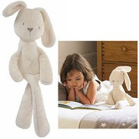 Wholesale Cheapest Plush Toy - MaMas & Papas Cute Plush Rabbit Baby Soft Plush Toys Brinquedos 54CM White Cheapest Price Best Gift for Kids 3pcs Free Shipping