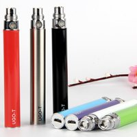 Wholesale Ego Pass Through Ce4 - High Performance eGo Passthrough Battery UGO T Battery 650 900mAh ego pass through fit Micro USB for 510 ego ce4 ce5 gs h2 atomizer DHL Free