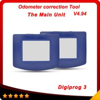 Wholesale Car Mileage Odometer Correction - 2016 Odometer Programmer Car diagnosis tester the main unit of Digiprog 3 with Full Software New Release digiprog iii V4.94 free shipping
