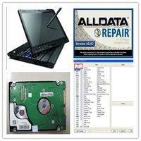 Barato Software Usado Citroen-Atacado! 10.53 software de reparo alldata ALL DATA + mitchell ondemand 2015 com 1000GB HDD no laptop X200T 2G pode usá-lo diretamente!