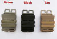 Wholesale Gear Pouch - The triple gear bag quick magazine MOLLE Airsoft fast MAG MOLLE pouch clip   5.56 mm fast mag M4 magazine pouch holster