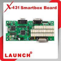 Wholesale Super Scanner X431 Master - Wholesale-2015 Top selling Original Launch X431 Smartbox Board with Customized Serial Number for gx3 master super scanner free shipping