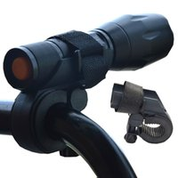 ingrosso luci grip per biciclette-luce della bicicletta clip sport bici lampada led light Torch Light Holder Mount Bike Cycling Grip - M2968