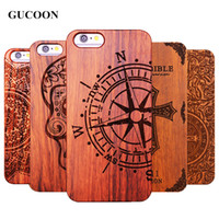 Wholesale iphone 5.5inch for sale - Group buy Retro Plastic Wood Skull Case For Iphone s Iphone X Se Novetly Vintage Case Cover For Iphone s Plus Plus Plus inch
