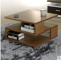 Wholesale Green Coffee Table - Simple square storage features small coffee table green coffee table