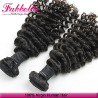 Wholesale Low Priced Virgin Indian Hair - 7A Malaysian Virgin Hair Weft Human Hair Curly Weave Hair Extensions Natural Black Bundles Lowest Price Dropship