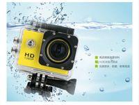Wholesale Sports Camera Hd For Skiing - New 1080P SJ4000 Cam Sport DV 1.5'' HD 12MP Waterproof Helmet Action Mini Camera for diving ski swimming