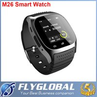 Bluetooth M26 Smart Watch mit LED-Display Sportuhr Pedometer Touchscreen Smartwatch Armbanduhr für iPhone IOS Samsung Android Phone