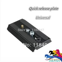 Wholesale Quick Slides - Wholesale-manfrotto501 Sliding Quick Release Plate base and 501hdv 701hdv paceaged plate general
