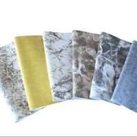 Wholesale Country Furniture Wholesale - Marbling waterproof self-adhesive wallpapers renovation of old furniture cabinets tables refurbished stickers